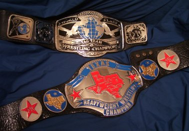WCCW Ring Used Championships